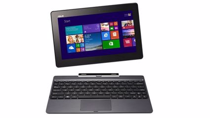 The ASUS Transformer Book T100 (supplied)