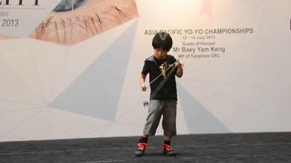 6-Year-Old Yo-Yo Wonder Boy
