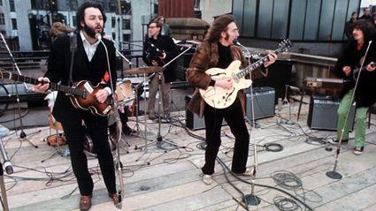 The Beatles last public performance