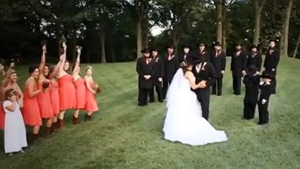 Paralysed Bride Surprises Wedding Guests
