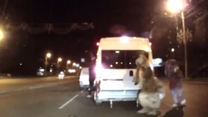 Looney Tunes Road Rage In Russia
