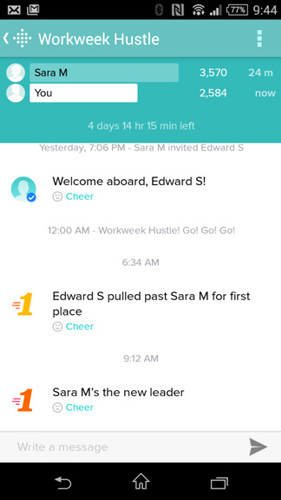 how to change height in fitbit app