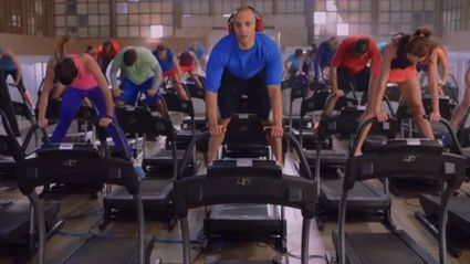 World's Largest Treadmill Dance With Over 40 Treadmills