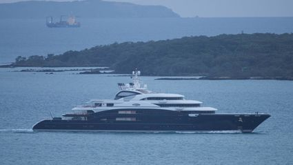Russian vodka baron's $423m superyacht arrives in NZ