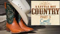 A Little Bit Country (Part 3) Music Quiz