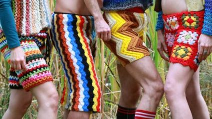 Crocheted Men's Fashion