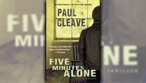 Stephanie Jones: Book Review - Five Minutes Alone by Paul Cleave