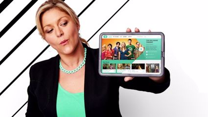 Toni Street shows off the new TVNZ OD (supplied)