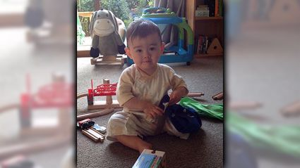 My Grandson Is 1 Today!
