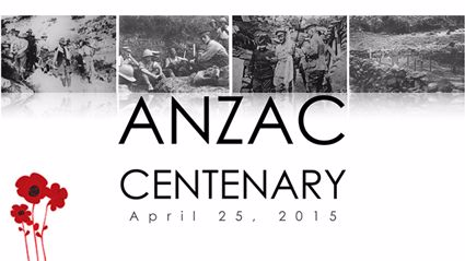 A moving tribute to mark the Centenary of Gallipoli