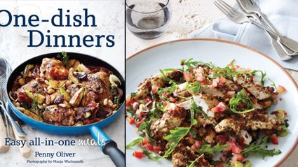 Penny Oliver talks to Brian Kelly about 'One-dish Dinners'