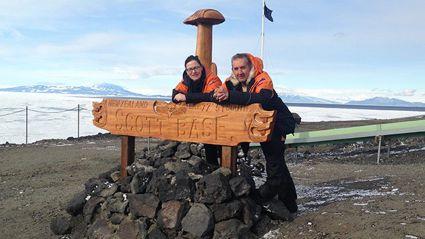 Nigel Latta in Antarctica