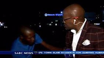 South African Journalists Mugged on Camera
