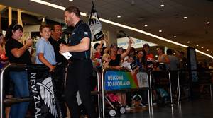 Warm Welcome For Black Caps Heroes