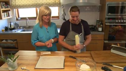 Lorna's Cooking School with Allyson Gofton: Easy Marzipan Tarts