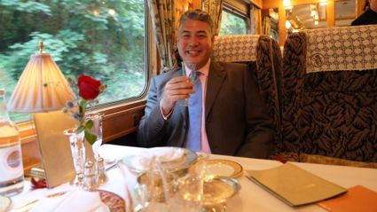 Jonathan Phang talks to BK about his 'Gourmet Trains' adventures