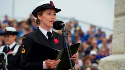 BK chats to singer Rebecca Nelson about her performance at Gallipoli's Dawn Service