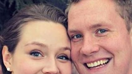 Creepy Mystery Figure Appears In Couple's Wedding Photo