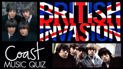 The British Invasion (Part 2) Music Quiz