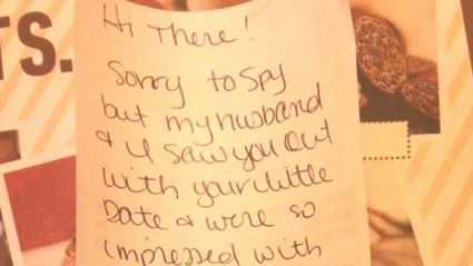 Single Dad Gets Unexpected Note From Strangers
