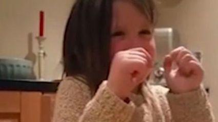 Tearful Girl Wants To Be Vegetarian