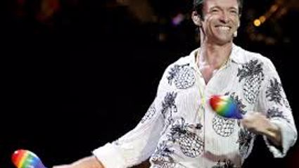 Hugh Jackman as Peter Allen in the The Boy from Oz
