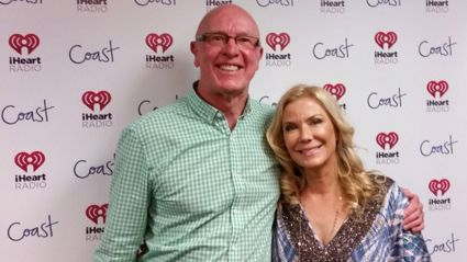 US soap star Katherine Kelly Lang with Brian Kelly