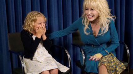 Dolly Parton Surprises Young Actress
