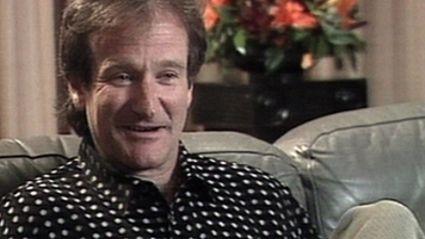 Robin Williams on Holmes