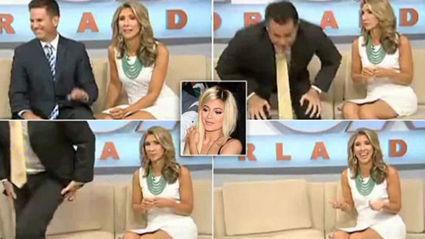 "News Anchor Storms Off Set, ""I've had enough Kardashians!"""