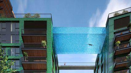 Sky Pool: Like Swimming in the Sky!