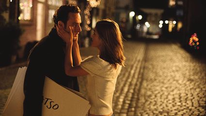 Scene from Love Actually
