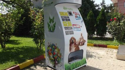 A novel way to help stray animals and help keep the planet green!