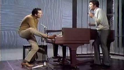 Jerry Lee Lewis and Tom Jones