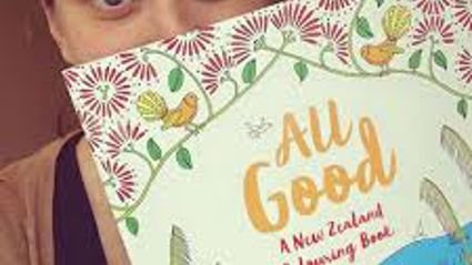 All Good A New Zealand Colouring Book by Jo Pearson