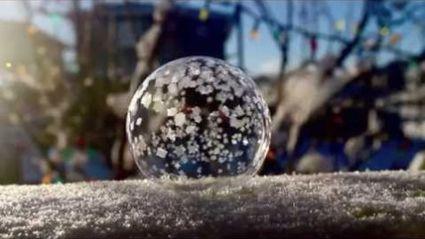 Bubble Freezing
