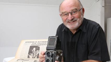 Brian Kelly talks to award winning photographer Bob Tulloch