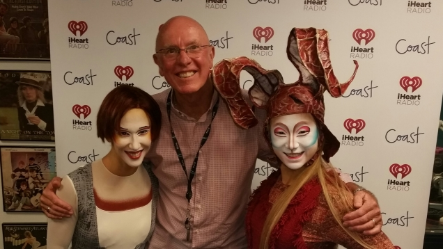 Cirque du Soleil performers chat to Brian about Quidam