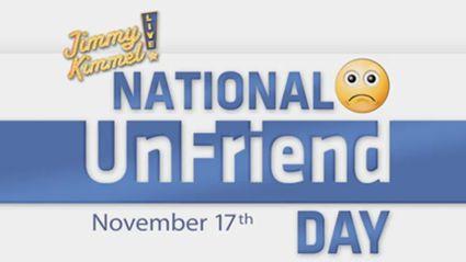 It's Unfriend Day!