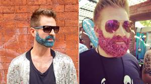 The New Man Trend: Glitter Beards