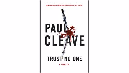 Stephanie Jones: Book Review - Trust No One by Paul Cleave
