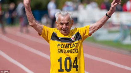 He's 104 Years Old... What's Your Excuse?