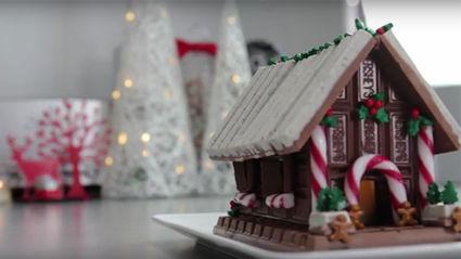 No Bake Candy Christmas House