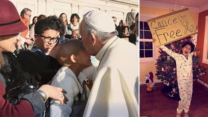 Girl Is Cancer Free After Getting A Blessing From The Pope