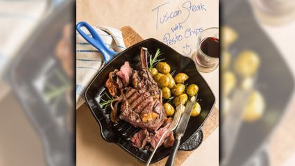 Allyson Gofton - Tuscan Tomahawk Steaks