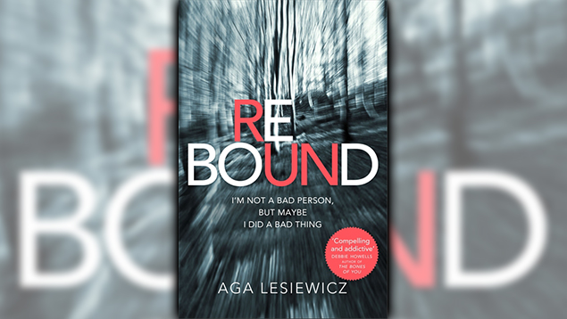Stephanie Jones: Book Review - Rebound by Aga Lesiewicz