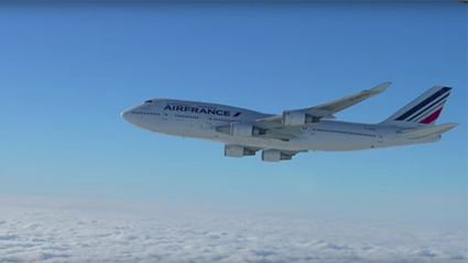 Air France Gives Final Salute To The Boeing 747