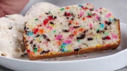 3-Ingredient Ice Cream Bread Recipe