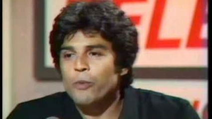 Erik Estrada and Peter Sinclair on Telethon, 1985