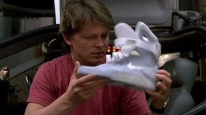 "Great Scott! ""Back to the Future"" self-lacing shoes are here!"
